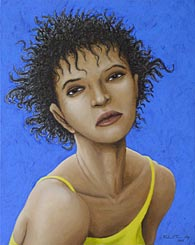 Painting 127 - Fine Art Portrait Painting